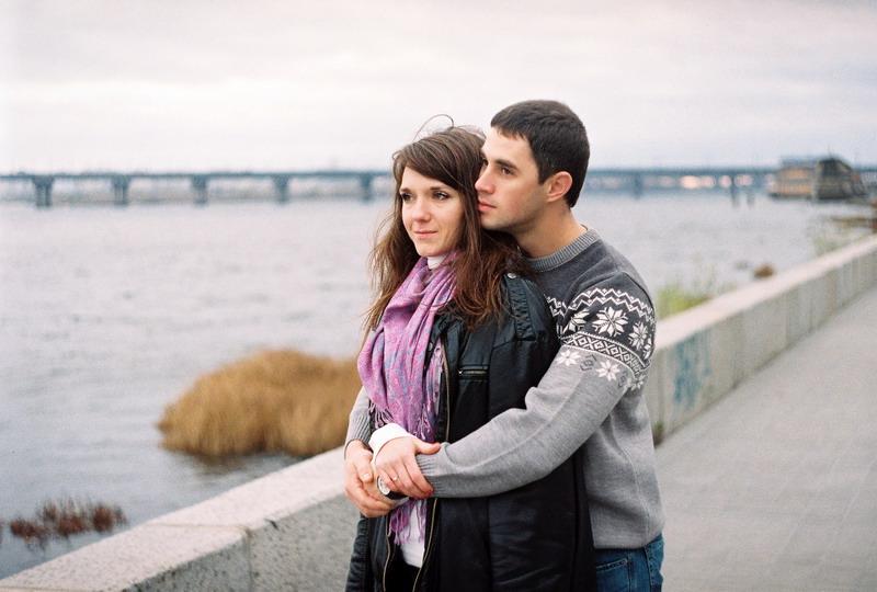 Юля + Саша на пленку